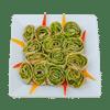 лаваш-с-соусом-песто,-зеленью-и-авокадо